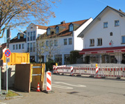 Vollsperrung der Gautinger Straße in Neuried ab 23. November