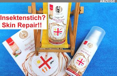 Insektenstich? Skin Repair!! Reformhaus Wissgott