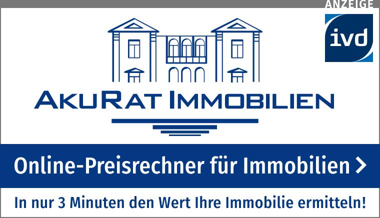 Online-Preisrechner für Immobilien von AkuRat Immobilien