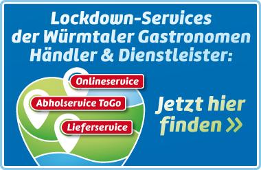 Lockdown-Service von Betrieben im Würmtal