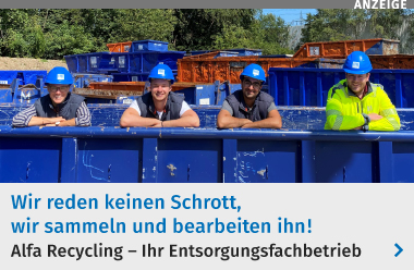 Alfa Recycling - Ihr Entsorgungsfachbetrieb